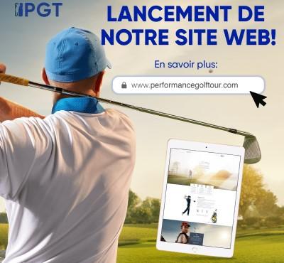 Le Nouveau Site Web de Performance Golf Tour