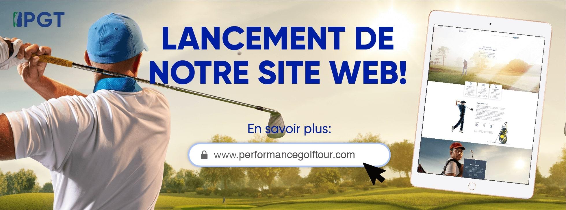 performance golf tour web