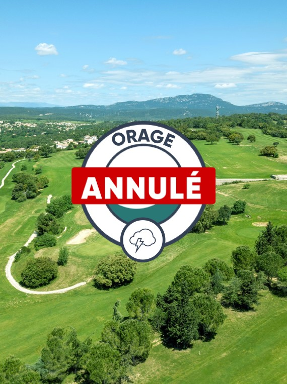 golf coulondres annule