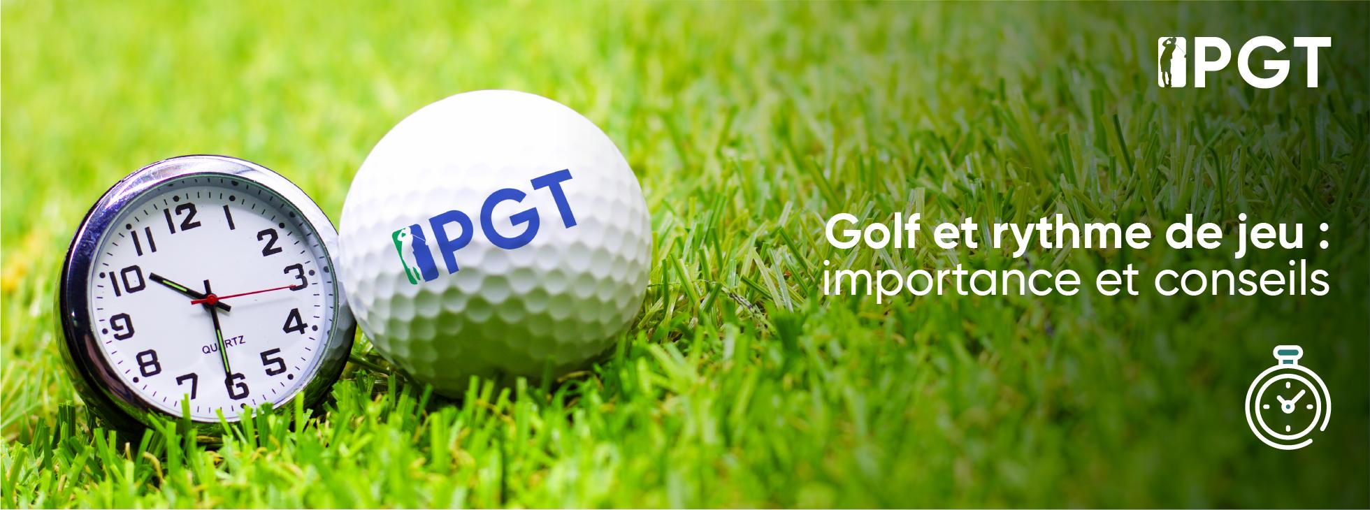 Golf et rythme de jeu